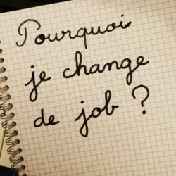 Je change de job